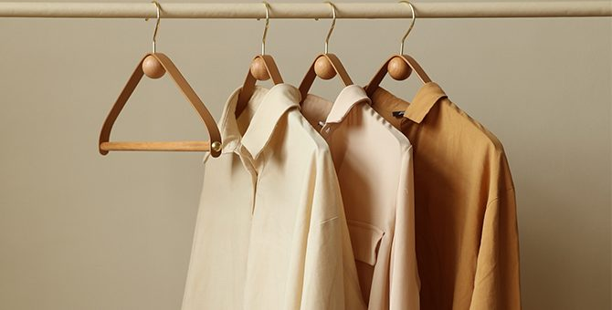 Sustainable development of clothing hangers